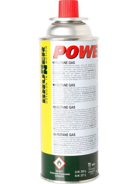 Brunner Powergaz - Combustible solide - 227g blanc